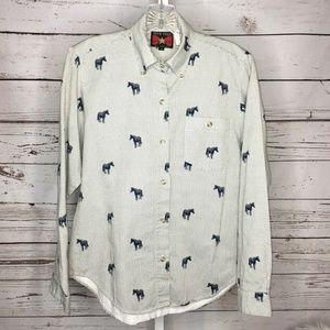 Five Star by Roper western shirt size Small